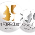 Médaille d'or Concours Féminalise 2014